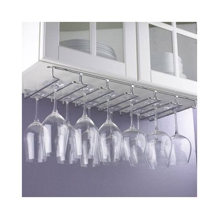 Wine Enthusiast Hanging Tabletop Wine Glass Rack