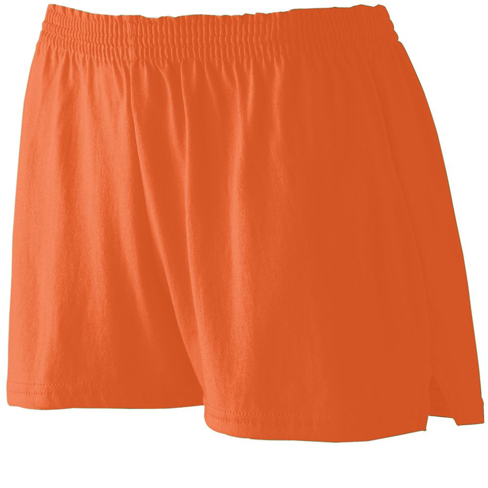 Augusta Sportswear Girls' TRIM FIT JERSEY SHORT 988