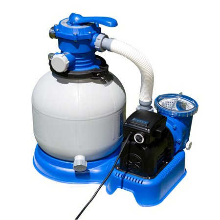 Intex Krystal Clear Sand Filter Pump Walmart Com