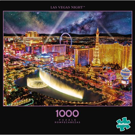 Buffalo Games - Photography - Las Vegas Night - 1000 Piece Jigsaw