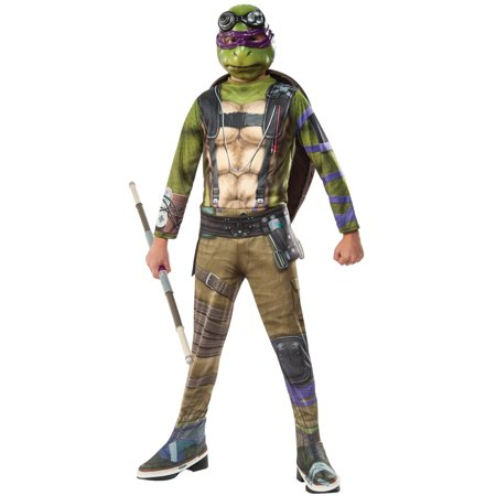 TMNT 2 Donatello Child Costume - Kids Teenage Mutant Ninja Turtle Costume