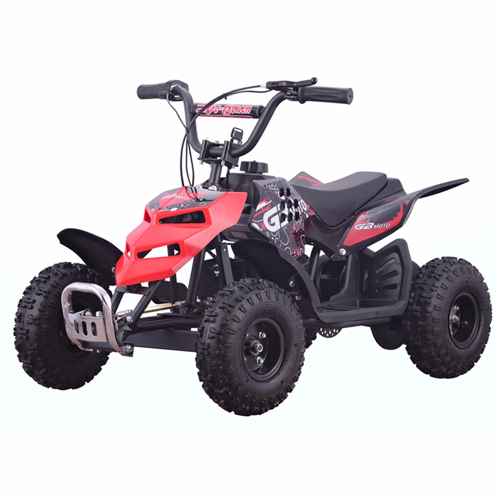 Monster Insect 24V 250W Electric Quad Battery-Powered MINI ATV Kid Ride-on Red by
