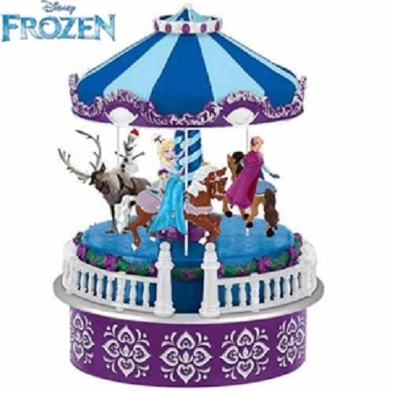 "Mr. Christmas Disney Frozen Animated ""Let It Go"" Musical Carousel #11852BP"