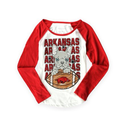 Arkansas Girl - Justice Girls Arkansas Spirit Graphic T-Shirt