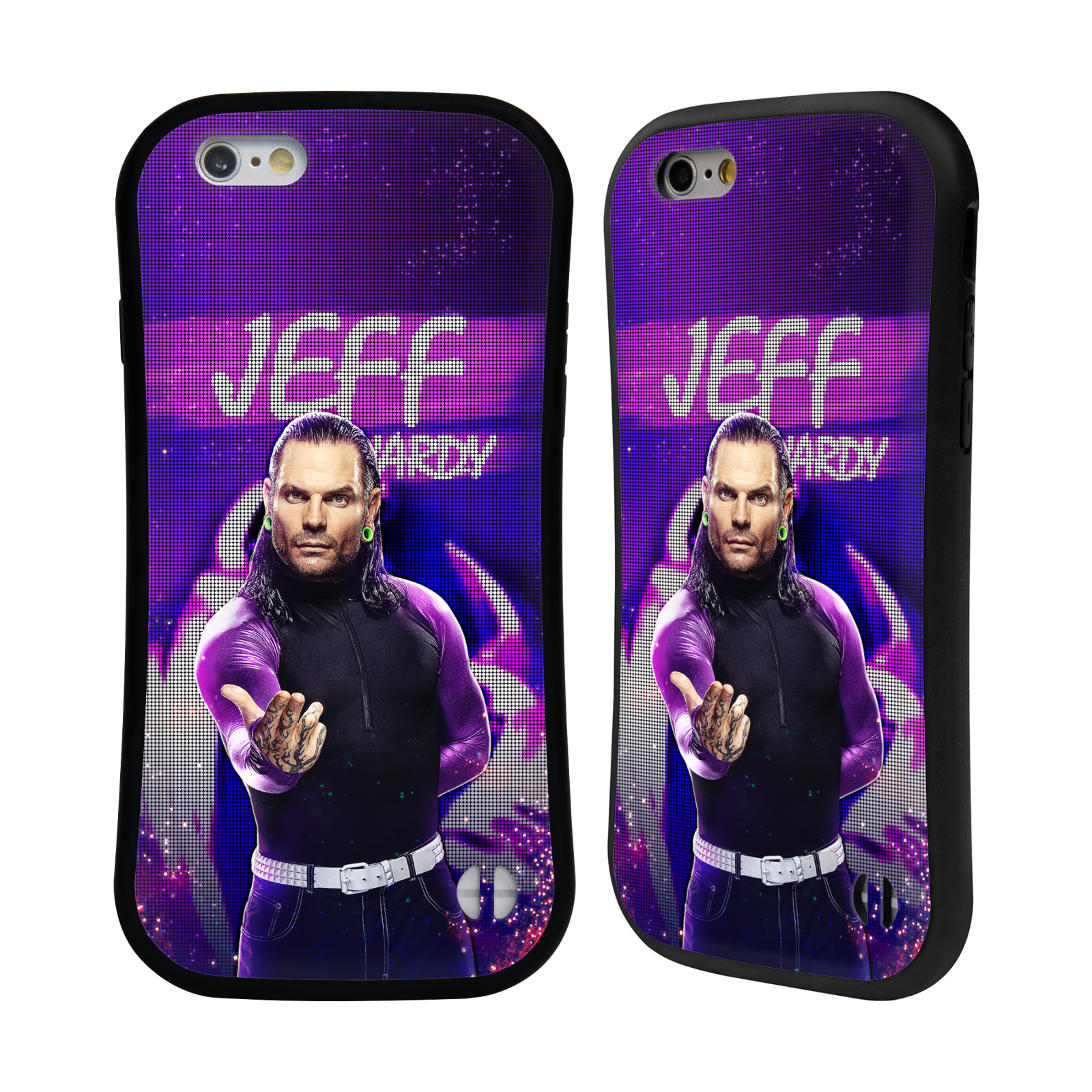OFFICIAL WWE JEFF HARDY HYBRID CASE FOR APPLE IPHONES PHONES