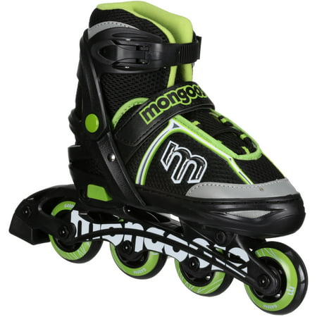 Mongoose Adjustable Size Switcher Roller Skates 1 pr Box](Boys Snake)