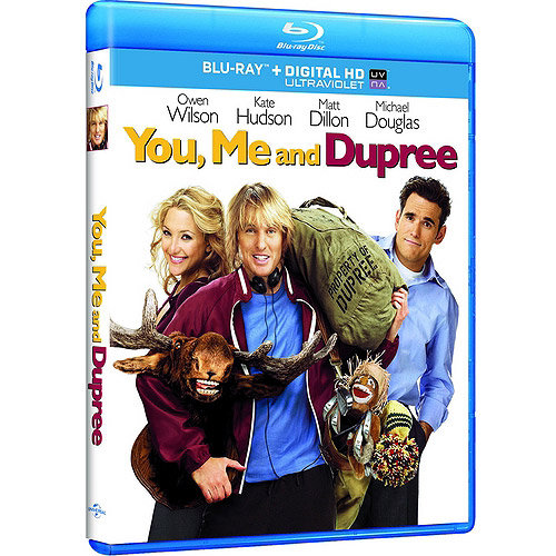 You, Me And Dupree (Blu-ray + Digital HD) (With INSTAWATCH) (Widescreen)