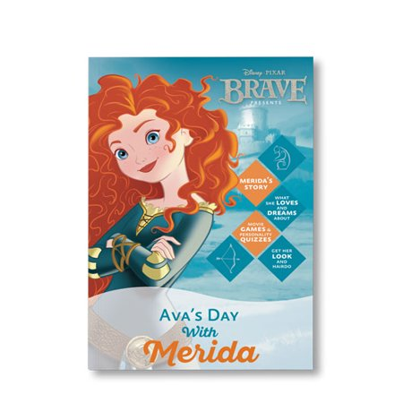 Disney Princess: Your Day with Merida - Personalized Book