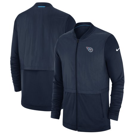 - Tennessee Titans Nike Sideline Elite Hybrid Full-Zip Jacket - Navy
