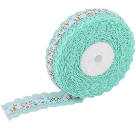 Ribbon Laces (Household Wedding Lace Floral Pattern Decorative Crafting Ribbon Roll)