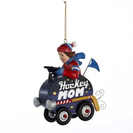 kurt adler hockey mom christmas ornament