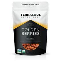 Dried Fruit & Raisins: Terrasoul Golden Berries