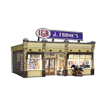 Woodland Scenics WOOBR5851 O Built-Up J. Frank's Grocery - image 1 of 1