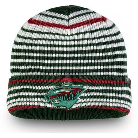 Minnesota Wild Fanatics Branded Iconic Layer Core Cuffed Knit Hat - Green - OSFA