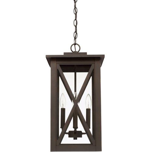 Alcott Hill Aticus 4-Light Outdoor Hanging Lantern
