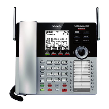 - VTech 4 Line Small Business System Main Console