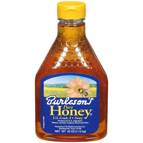 Burleson's: Honey Pure, 40 Oz