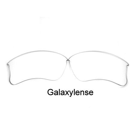 Galaxy Replacement Lenses for Oakley Flak Jacket XLJ Crystal Clear Color 100% (Specific Flak Jacket)