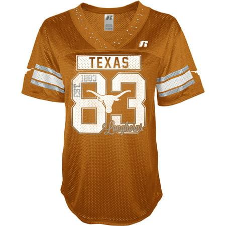 the latest 0a5d8 0071b NCAA Women's Texas Longhorns Football Jersey - Walmart.com