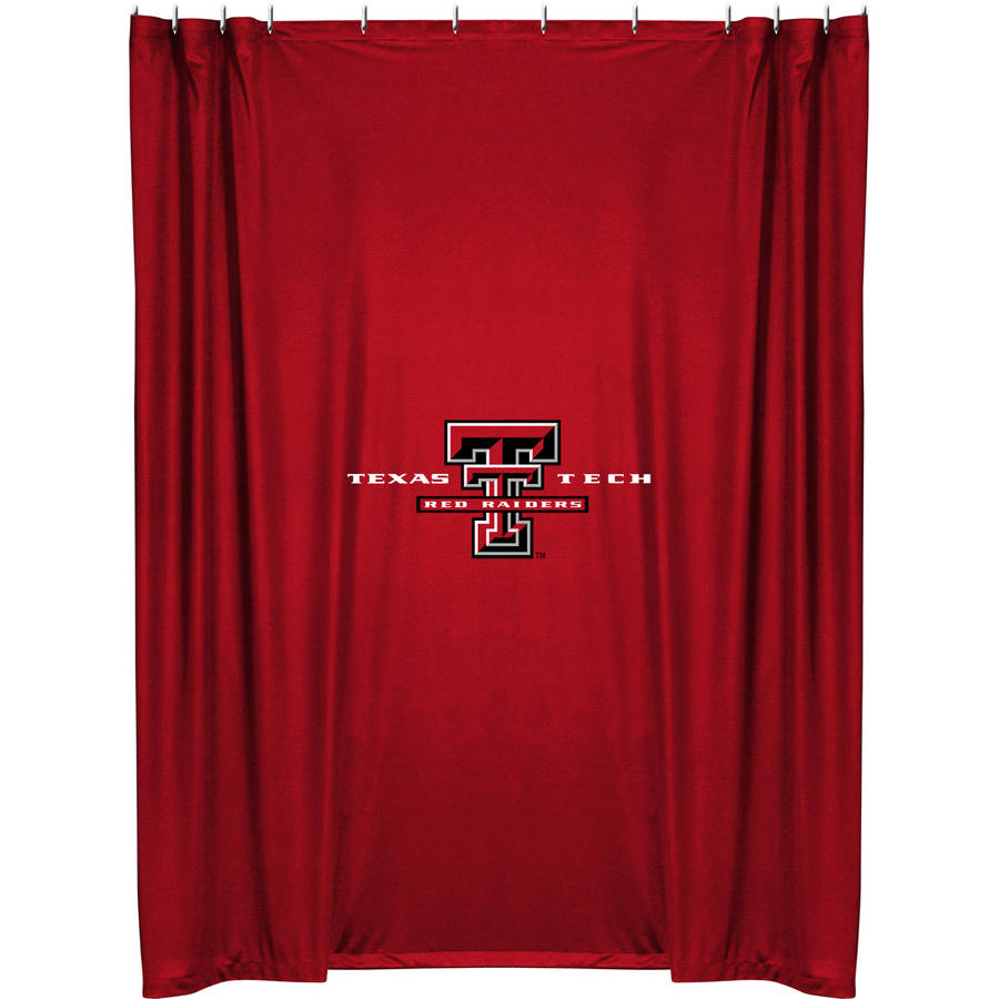 NCAA Texas Tech University Shower Curtain