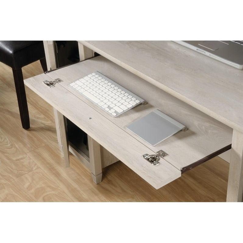 Sauder Edge Water Computer Desk In Chalked Chestnut