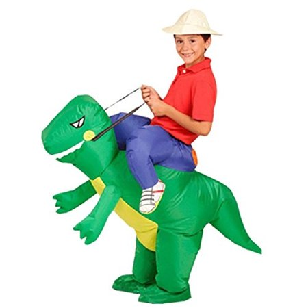 DreamHigh DH Inflatable Dinosaur Riding Funny Costume Suit For Kids