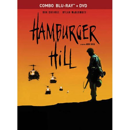Hamburger Hill  Blu Ray Dvd   Canadian