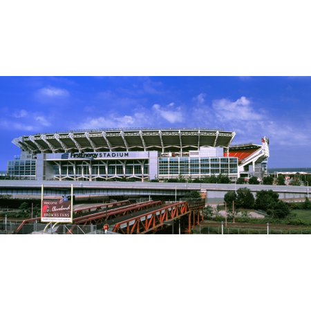 Football stadium in a city FirstEnergy Stadium Cleveland Ohio USA Poster Print](Party City In Ohio)