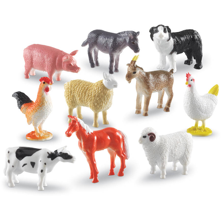 Learning Resources Farm Animal Counters, Set of 60 by LEARNING RESOURCES