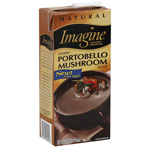 Imagine Foods Natural Creations Creamy Portobello Mushroom Soup, 32 oz (Pack of 12)