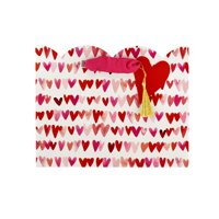 Hallmark Medium Valentine's Day Gift Bag (Watercolor Hearts)