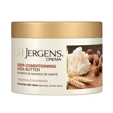 Jergens Crema Deep-Conditioning Shea Butter Body Cream 8 oz. Jar (Perfect Body Harmony Shea Butter)