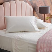 Embroidered Sheet Set by Drew Barrymore Flower Home