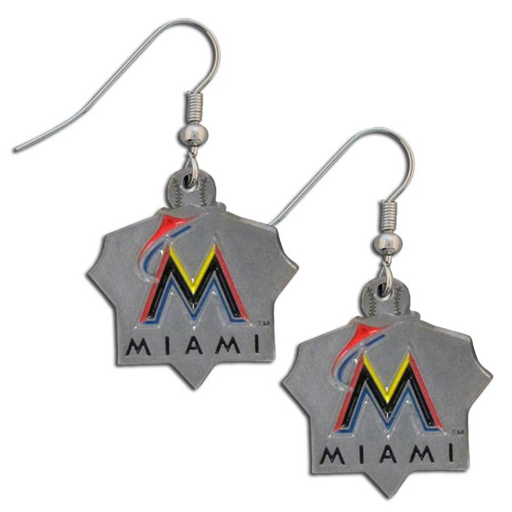 Florida Marlins Official MLB Dangle Earrings by Siskiyou 420757