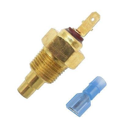 1//4 Inch NPT American Volt Replacement NPT Thread-in Brass Probe Radiator Electric Fan Thermostat Universal Automotive