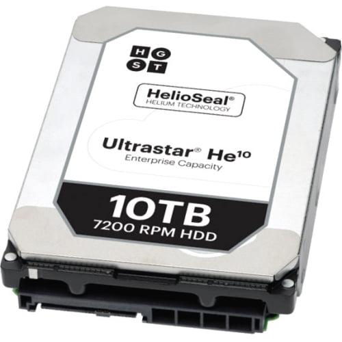 "HGST Ultrastar He10 10TB SAS 3.5"" Internal Hard Drive - 20 Pack"