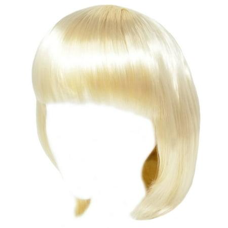 SeasonsTrading Economy Blonde Bob Wig - Adult Costume Cosplay Party Wig](Blonde Bob Wig)