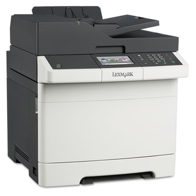 Lexmark CX410de Multifunction Color Laser Printer, Copy/F...