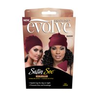 Evolve Satin Soc Maroon Large, Satin Lined