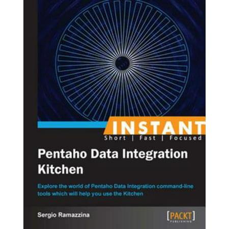 Instant Pentaho Data Integration Kitchen - eBook