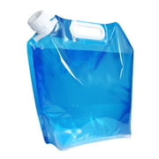 Portable Folding Collapsible Handheld 5/10 Liter Outdoor Drinking Water Camping Container Bucket Water Bag