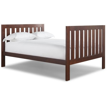Canwood Lakecrest Full Size Double Bed - Carved Double Bed