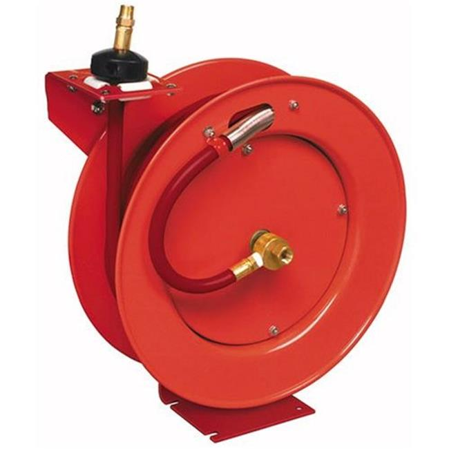 Lincoln 83754 1 2 Inch Air Hose Reel Auto Rewind 50 ft. by