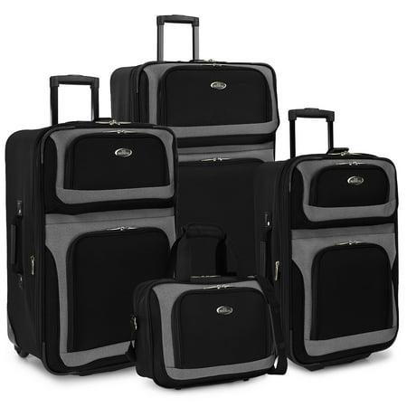 U.S. Traveler New Yorker 4-Piece Luggage Set in (New Yorker Store Com)