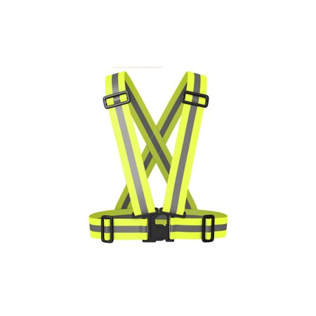 Best Reflective Safety Vest - Stay Safe Jogging, Cycling,