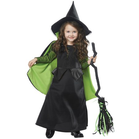 Toddler Witch Costume Uk (Wicked Witch of Oz Toddler)
