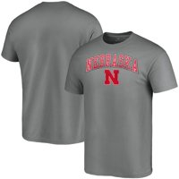 Nebraska Cornhuskers Fanatics Branded Campus T-Shirt - Charcoal