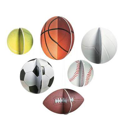 IN-13794131 3D Sports VBS Hanging Sports Balls Decorations 6 - Vbs Decoration