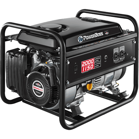 Briggs & Stratton 1150W PowerBoss Portable Generator Briggs & Stratton Electric Generator