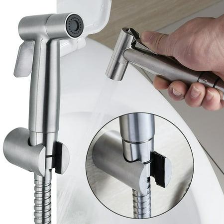Moaere Hand Held Bidet Sprayer Premium Stainless Steel Diaper Sprayer Shattaf for Personal Hygiene and Potty Toilet